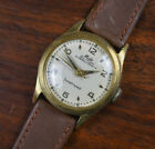 Vintage MIDO Super Automatic Gold Filled Men's Watch Cal. 00917P Leather Band