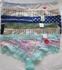 So Intimates Cheeky Pantie Variety Lot of 6 Size Large NWT