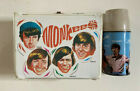 Vintage MONKEES Vinyl Lunchbox Lunch Box  Thermos 1967 by Thermos