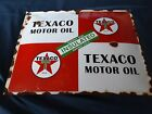 TEXACO MOTOR OIL PORCELAIN SIGN