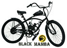 BLACK MAMBA Complete Motorized 26 Bicycle Moped Scooter 80cc Motor Kit