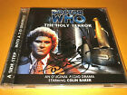 COLIN BAKER signed DOCTOR WHO big finish AUDIO DRAMA CD the HOLY TERROR dr who