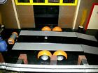Built, AMT Trailer FOR 1/24 or 1/25 scale diorama, ((TRAILER w/RAMPS ONLY))