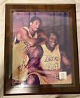 Kobe Bryant & SHAQ Autograph. Photo Champ.W Certificate Of Auth. Make An Offer!
