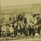 Vtg Photo 1924 RAT DAY Miami School of Mines,NEO A&M College Oklahoma,Texaco Gas