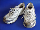 SKECHERS DLites SIZE 9 Womens Shoes Sneakers White Silver 11567 S SPORT