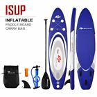 Durable 10 Inflatable Surfboard SUP with Adjustable Paddle Fin Outdoor Rec