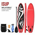 Durable 11 Inflatable Surfboard SUP with Adjustable Paddle Fin Outdoor Rec