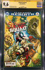 JIM LEE SIGNED SUICIDE SQUAD 1 CGC 96 COMIC BOOK NOT CBCS HARLEY QUINN MOVIE