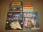 Star Wars Art Paper Activity Book LOT Origami Droid Factory Folded Flyers Disney