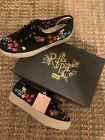 Keds Rifle Paper Co Embroidered Espadrille Sneaker Shoes Brand New In Box 8