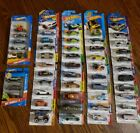 Hot Wheels Mixed Lot Of 48 Cars With Tampo Errors Tire Error Packed Error Etc