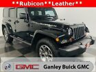 2013 Jeep Wrangler Unlimited Rubicon 2013 Jeep Wrangler Unlimited Rubicon 87573 Miles Black Clearcoat 4D Sport Utilit