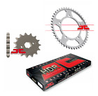 HYOSUNG RT125 KARION CITYTRAIL 08 - 15 JT Heavy Duty Chain and Sprocket Set Kit