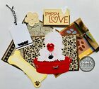 I Love My Dog Tear Bear 3D Paper Piecing Scrapbooking Page Mat Set Die cut Card