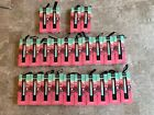 LOT OF 12 NYX POWDER LIP CREAMS PPL001 BUTTERSCOTCH ALL NEW IN BOXES