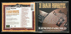 RAYMOND FAIRCHILD / 31 BANJO FAVORITES BLUEGRASS AUDIO DISC-MUSIC CD