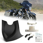Front-Chin Fairing Mudguard Spoiler For Touring Dyna Softail Road King 04-17 Z2