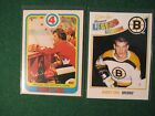 2010-11 O-Pee-Chee 2 Card Bobby Orr Lot #597 Marquee and #300 Special Collector