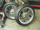 Ducati GT 1000 front and rear wheels spoked rim with tires