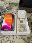Apple iPhone X 256GB Silver Unlocked Smartphone with Orig Box And Accessories