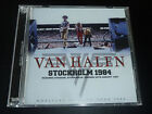VAN HALEN STOCKHOLM SWEDEN 1984 David Lee Roth Motley Crue Kiss Ozzy JAPAN 2CD
