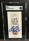 Grant Hill HOF Ticket Stub Auto Signed Autograph SGC Slabbed Encapsulated