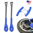 4PC Tire Change Tool Kit With Spoon Lever Rim Protector For Motorcycle