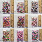 Assorted Fimo Polymer Clay Cane Slices for Charms Phones Nail Arts Slime