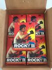1979 Rocky II Topps Box 36 Packs - MINT CONDITION
