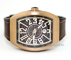 Franck Muller Vanguard Automatic Brown V45 SC DT CIR BZ BR NR Bronze Wristwatch