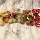 Ty Beanie Baby Lot Christmas joyful joyous 2005 Holiday Teddy Candy Canes 2007