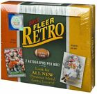 2013 Upper Deck Fleer Retro Football Factory Sealed 12 Box Hobby Case - 24 Autos