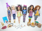Lot of Liv Dolls and Camping Accessories