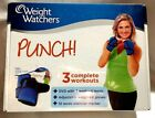 NEW WEIGHT WATCHERS Body Building PUNCH Boxing Gloves DVD Exercise Workout Set