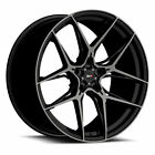 20 Savini SV F5 Black 20x9 20x9 Forged Concave Wheels Rims Fits Audi SQ5