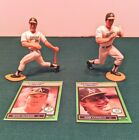 VTG STARTING LINEUP MLB Figures Oakland A's Canseco & McGwire 1989 w/ Cards  EUC