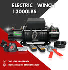 STEGODO Electric Winch 13000LBS 12V Synthetic Rope Towing Truck Trailer Jeep 4WD