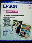 Epson Glossy Photo Paper 20 Sheet Pack 85 x 11 S041141