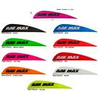100 AAE Max Stealth 27 MIXED COLOR Vanes blue hot pink red orange black white