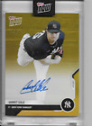 2020 Topps NOW OD-38F GERRIT COLE ROAD TO OPENING DAY ON-CARD AUTOGRAPH #'d 1 1