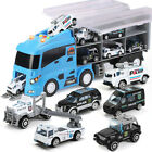7pcs Die cast Police Rescue Truck Toy for Children Kids for Boy and Girl