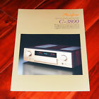 ACCUPHASE C-3800 brochure stereo preamplifier audio high-end prospekt English