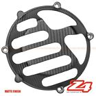 MATTE Ducati ST2 ST3 ST4 Engine Clutch Gearbox Case Cover Guard Carbon Fiber