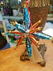 Christopher Radko Ornament STAR BRIGHTS *RARE* Blue & Orangish Color NWT