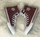 SKICKS Texas AM Aggies High Top Shoes Sneakers Mens size 12 New