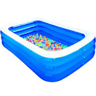 Inflatable Swimming Pool Outdoor Backyard Inflated Tubs for Kids Adults