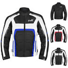 Motorbike Biker Riding Racing Mens All Weather CE Armored Motorcycle Jacket