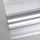 Silver Stainless Steel Contact Paper Waterproof Removable Peel  Stick Wallpaper