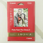 Canon Pixma Photo Paper Plus Glossy II PP 201 20 Sheets 5 x 7 New Sealed